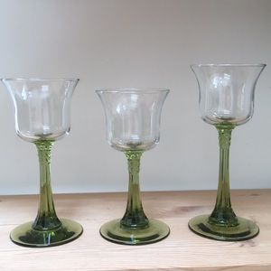 3 PartyLite Radiant Glow light candle holders